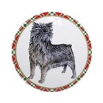 Affenpinscher Christmas Ornament