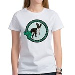 Dog Women's White T-Shirts