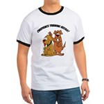 Dog Men's Ringer T-Shirts
