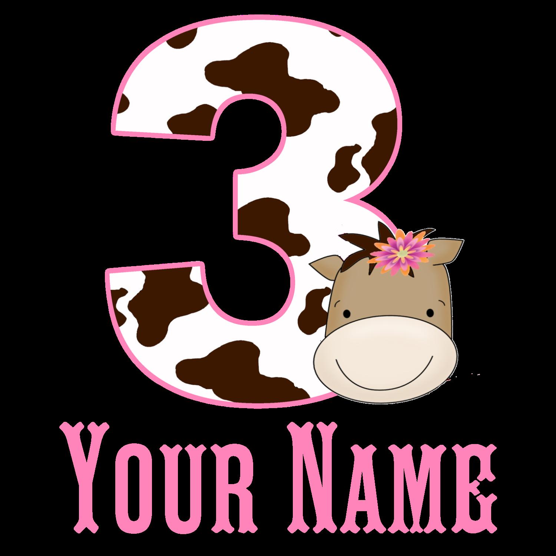 Design your own t-shirt cafepress - 3rd Birthday Girl Horse T Shirt