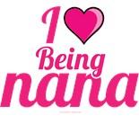 I Wear Pink My Grandma Grandmother Nana