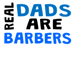 Real Dads Are Barbers Body Suit