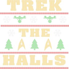 Trek the Halls Ugly Christmas Sweater