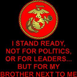 I Stand Ready My Brother Coffee Mug