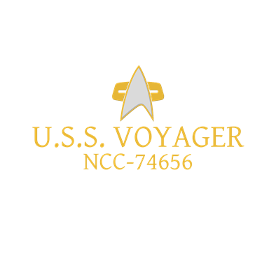 Star Trek: DS9 and Voyager Ship Name