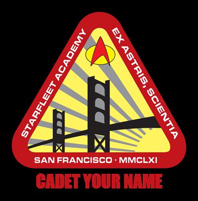 Personalized Starfleet Academy Emblem