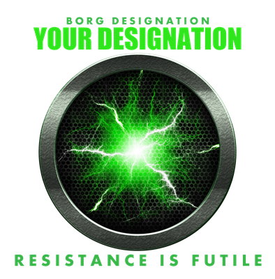 Personalized Star Trek Borg Alcove