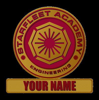 Starfleet Academy Engineering Patch