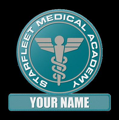 Starfleet Academy Medical Patch