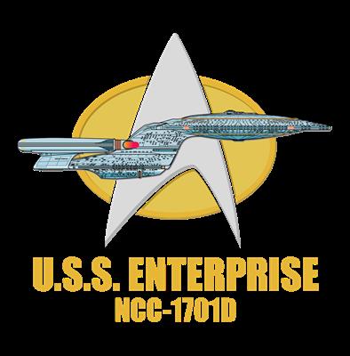 Personalized Galaxy Class Starship