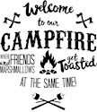 Funny camping Banners