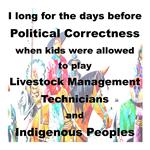 BUMPERSTICKERS POLITICAL CORRECTNESS