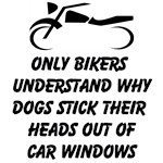 Only Bikers Understand Why Dogs Stick Their Heads Out Of Car Windows