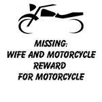 Missing: Wife And Motorcycle Reward For Motorcycle