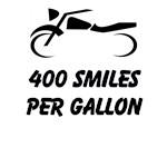 400 Smiles Per Gallon