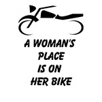 A Woman's Place Is On Her Bike