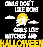 Girls like Halloween