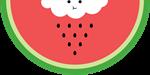 Cloud raining / eating watermelon