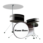 Drums Personalized
