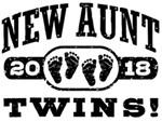 New Aunt Twins 2018 t-shirts