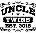 Uncle Twins Est. 2018 t-shirts