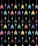 Arrow Design Flip Flops