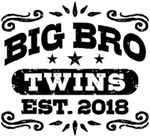 Big Brother Twins Est. 2018 t-shirt