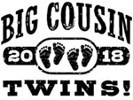 Big Cousin Twins 2018 t-shirt