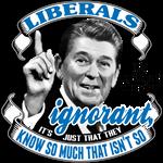 Liberals - Reagan Quote