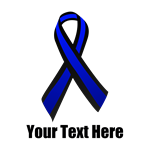 Police Support Awareness Ribbon