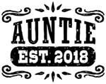 Auntie Est. 2018 t-shirts