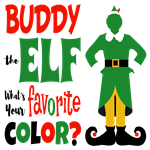 Buddy the Elf Favorite Color