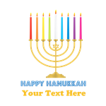 Happy Hanukkah Personalized