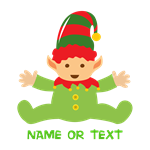 Baby Elf Personalized