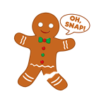 Oh Snap Gingerbread Man