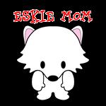 American Eskimo Dog Eskie Mom