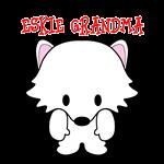 American Eskimo Dog Eskie Grandma