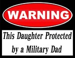 Warning Protected Daughter