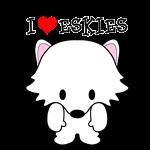 I Heart American Eskimo Dogs Eskies