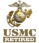 USMC Retired t-shirts