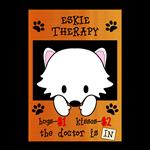 American Eskimo Dog Eskie Therapy