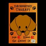 Dachshund Therapy