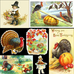 Thanksgiving Vintage Medley