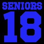 SENIORS '18 - BLUE CLASS OF 2018