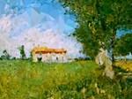 Van Gogh Country Landscape