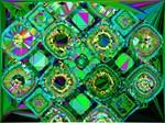 Mosaic 2 Low Poly Fractal