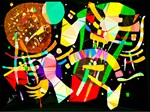 Abstract Low Poly After Kandinsky