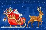Christmas Santa Snow Reindeer