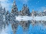Christmas Snow Fantasy Landscape