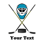 Hockey Goalie Personalized